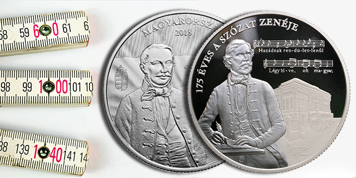 Hungary 20000 Forint Silver Coin - Particularly Large Coin