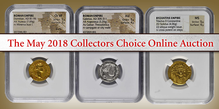 Stack's Bowers May 2018 Collectors Choice Online Auction - World Coins
