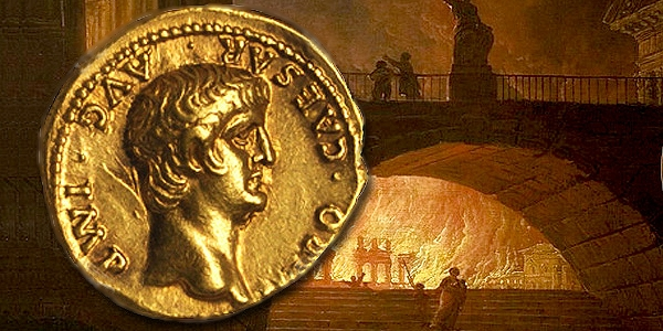 ancient coins Gold Nero
