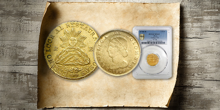 PCGS-graded coins - Daniel Frank Sedwick Treasure Auction