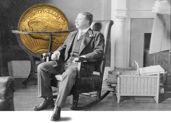 Theodore Roosevelt - Saint Gaudens Double Eagle
