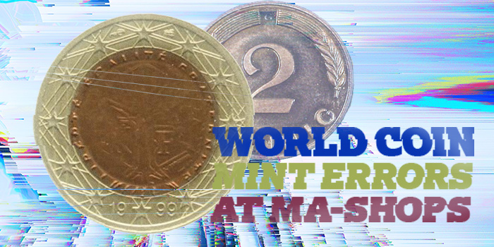 MA-Shops - World Coin Mint Error Coins