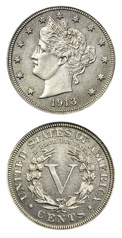1913 Nickel Eliasberg Specimen Stack's Bowers