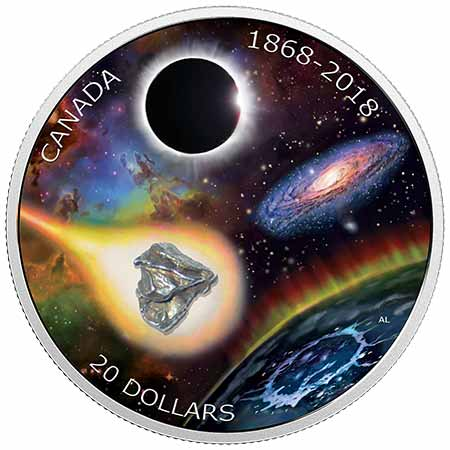 Royal Canadian Mint 1868-2018 $20 Meteorite Coin