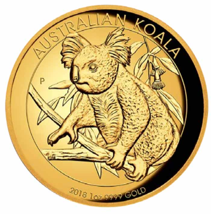 2018 Australia Koala 1 ounce gold coin 2018 - Perth Mint