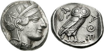 Greece and the Greek Islands - Ancient Greek coins of