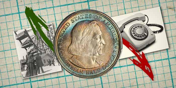 1892 World's Columbian Exposition Half Dollar- Commemorative Coins