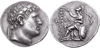 Silver Tetradrachms of the Pergamene Kingdom. Images courtesy CNG, NGC