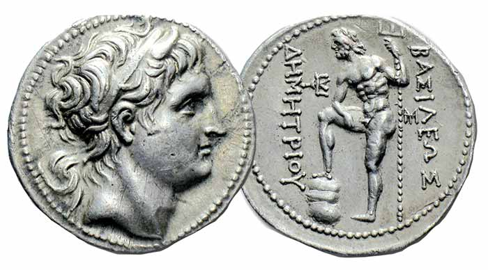 Silver Didrachm from Taras