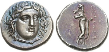 Satraps of Caria (c.395-336 BCE). Images courtesy CNG, NGC