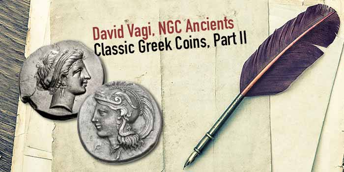 NGC Ancients, Classic Greek Coins, Part II