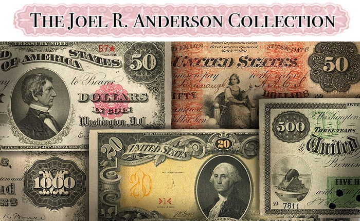 Joel R. Anderson Collection of Paper Money Part II