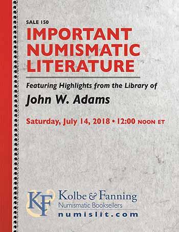 Kolbe & Fanning: Important Numismatic Literature