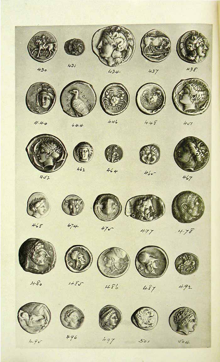 Lot 212 - John W. Adams Collection - Ancient Coin Plate