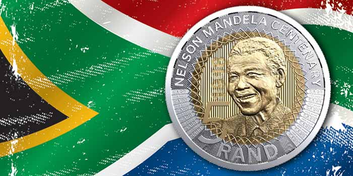 Nelson Mandela 2018 5 Rand South African Mint