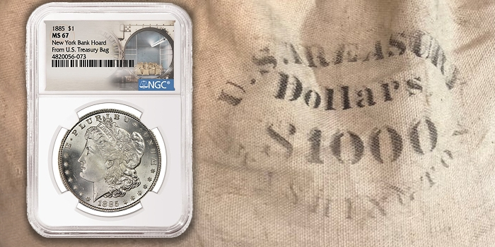 NY Hoard of Morgan Silver Dollars