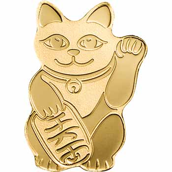 Neko Cat Gold Coin