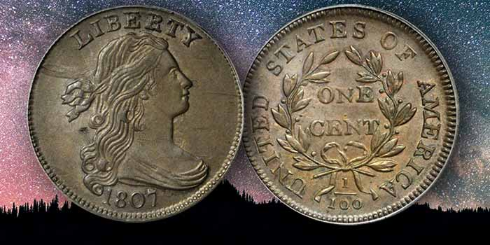 1807 One Cent Comet