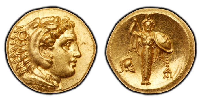 << Fig 5 Pergamum in Mysia. Anonymous. Gold Stater >>