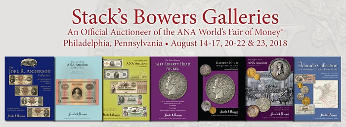 Stacks Bowers ANA Auction