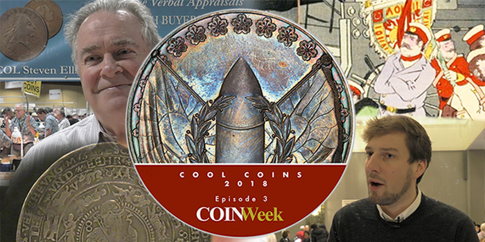 Cool Coins! 2018: Episode 3: Japanese WWI Medal, 3 Error Cent, More…