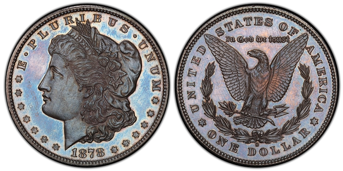 Coin Grading – PCGS Authenticates First Known 1878-S Specimen Morgan Dollar