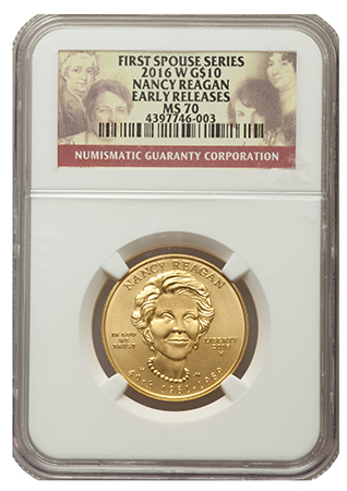 NGC First Spouse Series 2016-W $10