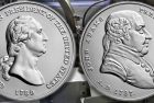 US Mint Set Release two Presidential Silver Medals