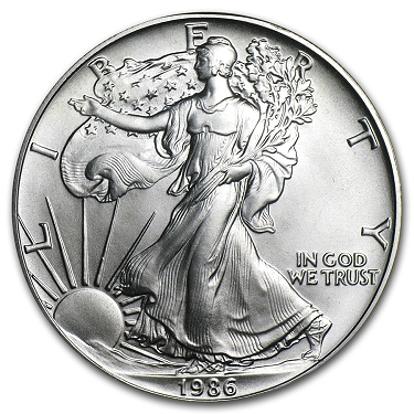 2017 American Silver Eagle 1 oz Silver CoinLot of 5 From Mint Tube