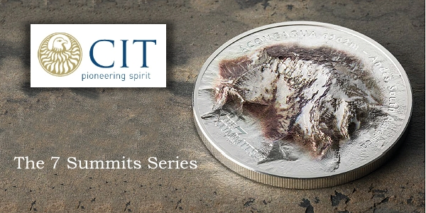 CIT Seven summits coin series