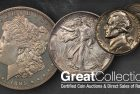 The King of the Morgan Dollar Series to Sell at GreatCollections Auction