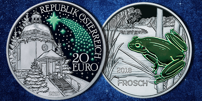 2018 Austrian Mint - Silent Night - Colorful Creatures: Frog