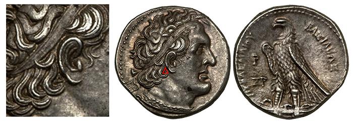 Figure 4: Ptolemey AR Tetradrachm