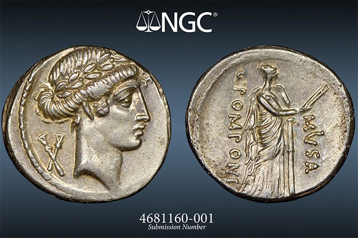 Ancient Coin Imaged by NGC - Digital Coin Photography