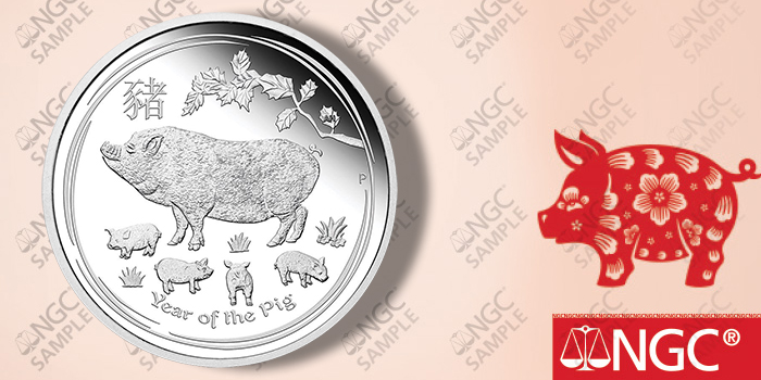 Numismatic Guaranty Corporation - Year of the Pig