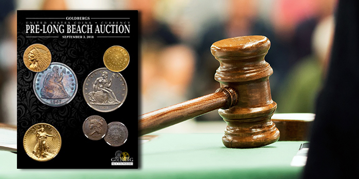 Goldberg's Pre-Long Beach Auction - Coin Collecting