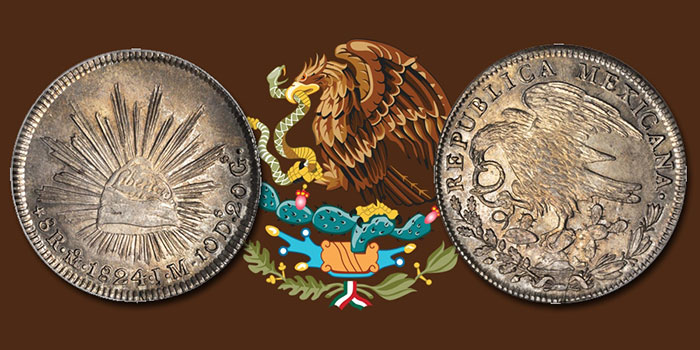 1824 Mexico Hookneck 8 Reales