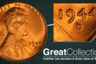 Rare Lincoln Cent Variety Set to Bring over $27,000 at GreatCollections Auction