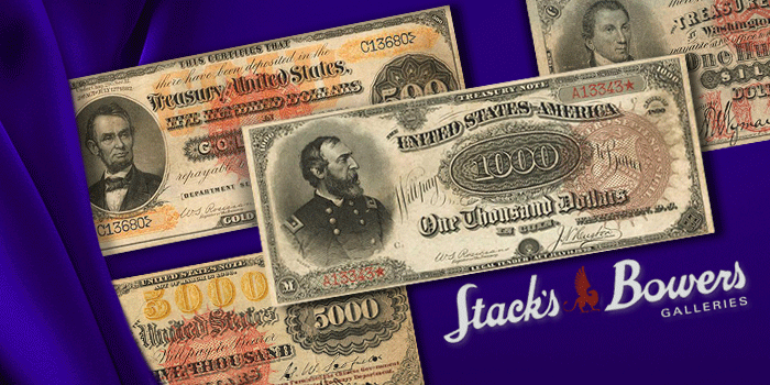 Stack's Bowers Anderson Collection III - Currency Auction