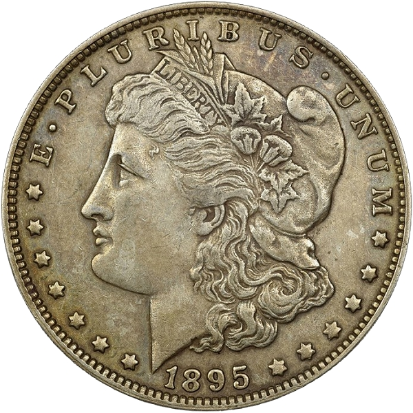 1895 Morgan dollar Fake