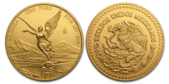 2018 Gold Libertad - Mexico