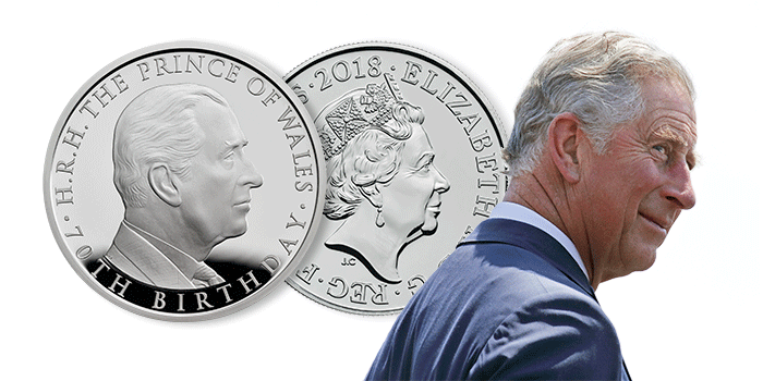 Prince Charles 70th Birthday Coin Royal Mint