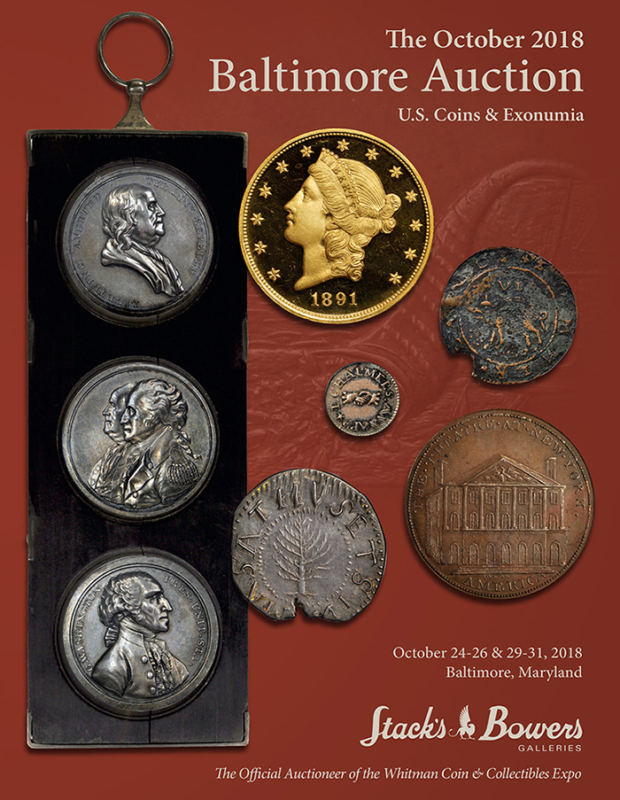Stack's Bowers The October 2018 Baltimore Auction - Catalog Image