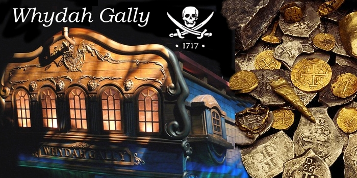Treasure and Shipwrecks - Captain Sam Bellamy and the Whydah:
