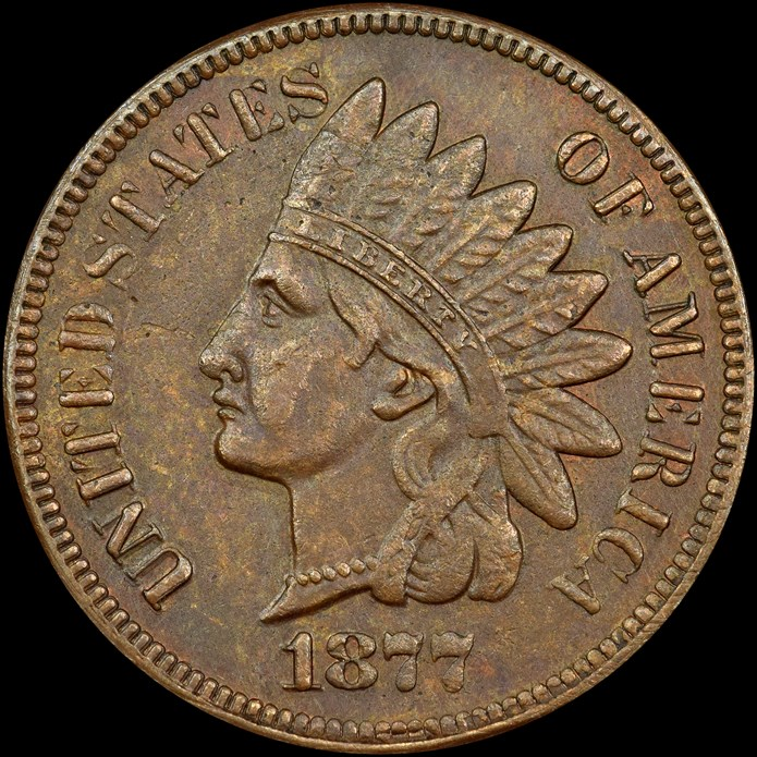 NGC counterfeit 1877 Indian Head cent