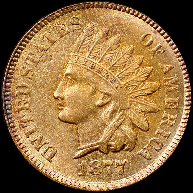 NGC 1877 Indian Head cent