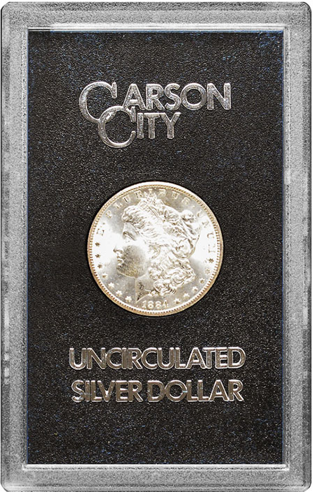 GSA Carson City Uncirculated Silver Dollar - Morgan Dollar