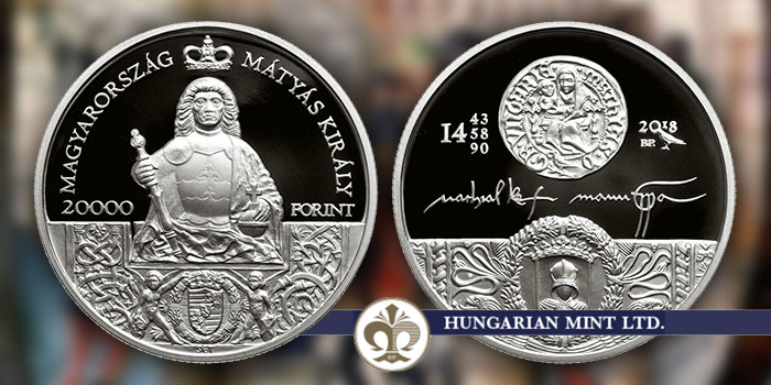 Hungarian Mint 20000 Forint King Matthias