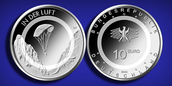 Germany 2019 - 10-Euro - In Der Luft