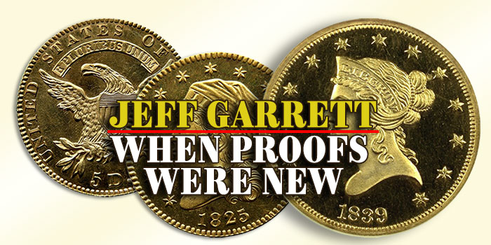 Jeff Garrett: When Proofs Were New
